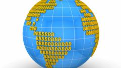 World currency Stock Footage