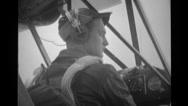 Cub Pilot 21 Stock Footage