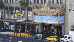 El Capitan Theater in the hearth of Hollywood Stock Footage