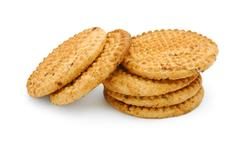 Digestive biscuits Stock Photos