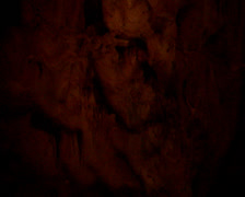 A droplet hitting a puddle in a cave, Cango Caves - Oudtshoorn Stock Footage