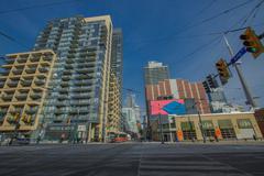 Stock Photo of Toronto Intersection