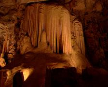 Cango Caves, Oudtshoorn Stock Footage