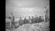 B-29'S Raid Iwo Jima 15 Stock Footage