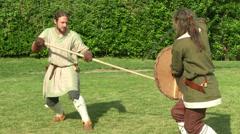 Celt camp training 21 Stock Footage
