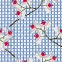 Stock Illustration of orchid flowers. seamless wallpaper.