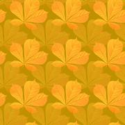 Stock Illustration of seamless wallpaper pattern