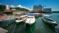 Stock Video Footage of Jesselton Point Timelapse