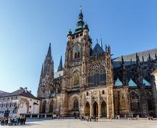 St. vitus cathedral in prague czech republic Stock Photos