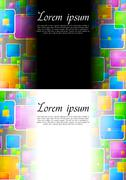 Stock Illustration of Beautiful vibrant backgrounds