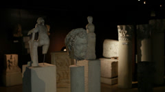 Istanbul Archaeology Museums Stock Footage