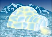 Stock Illustration of igloo