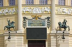 Cirque d HiverCirque d Hiver, the entrance  Paris France - stock photo