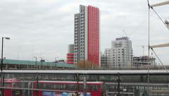Tower block east end of london Stock Footage