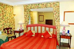apartment interior in the luxury hotel, tenerife, island, spain - stock photo