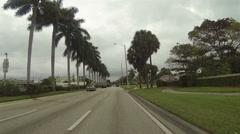 Drive POV Highway 1 Miami Florida 1 HD 0271 Stock Footage
