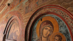 Greece, Vatopedi Monastery Stock Footage