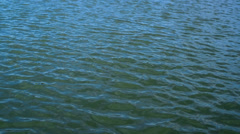 Abstract water ripple. Surface of the river on a windy day. Stock Footage