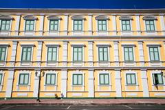 Old building of the ministry of defense Stock Photos