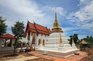 Stock Photo of wat chimplee at koh kred in nonthaburi