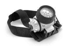 led headlamp - stock photo