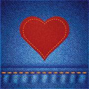 jeans background - stock illustration