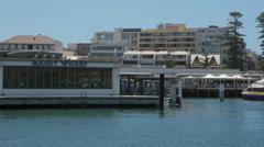 Manly wharf, sydney, australia Stock Footage