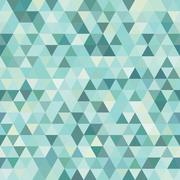 pattern geometric. background with triangles - stock illustration
