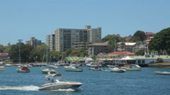 Manly harbour, sydney, australia Stock Footage