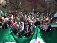 Syrian Pro-Revolutionary Protest Stock Photos