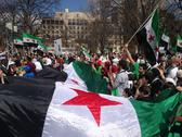 Stock Photo of Syrian Pro-Revolutionary Protest
