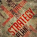 Stock Illustration of Strategy - Grunge Wordcloud.