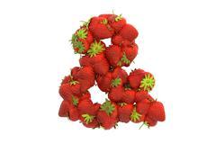 Stock Illustration of Strawberry symbol &