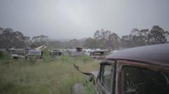 Junkyard Australia Stock Footage
