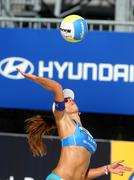 Brasilian beach Volley player Ana Paula Connelly - stock photo