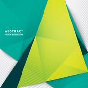 abstract triangle shape background - stock illustration