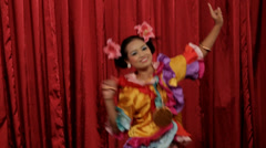 Ethnic Dancing in Myanmar (Burma) Stock Footage
