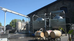 Winery in Napa Valley Stock Footage