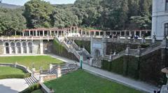 Castello di Miramare - castle Miramare Stock Footage