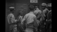 Soldiers entering the room Stock Footage