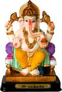 Statue of ganesha, the god of education, knowledge and wisdom in the hindu my Stock Photos
