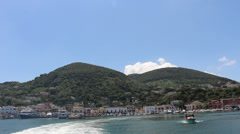 Leaving the Island of Ischia Stock Footage