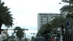 Miami Beach Florida POV ajomatkan liike katu HD 1158 Arkistovideo