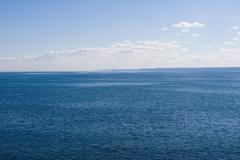 ocean on a calm day - stock photo