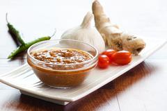 Indian curry sauce Stock Photos