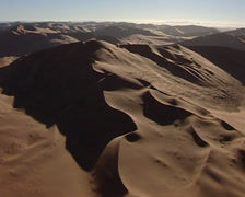 Aerial from Namib desert Stock Footage
