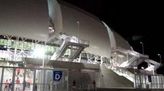 Arena das Dunas - Copa do Mundo - Brasil  - 2014 - Cidade sede Natal Stock Footage