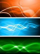 Stock Illustration of Vibrant banners. Vector illustration