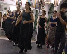 Japanese people Flamenco dance classes Stock Footage