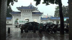 National Chiang Kai-shek Memorial Hall Stock Footage